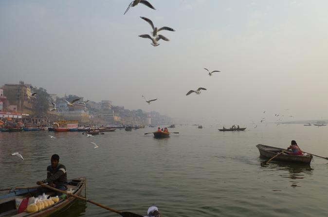 Small-Group Morning Varanasi Tour Including Ganges Boat Ride