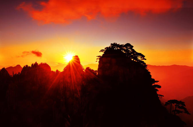 Private Mount Huang Stunning Sunrise, Soft adventure, Natural Scenery, Family