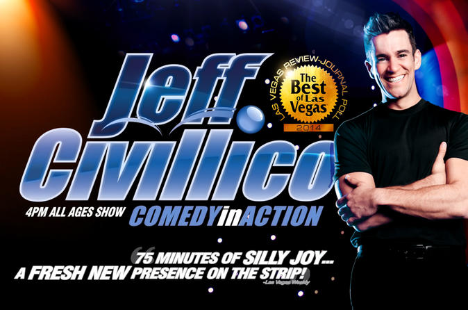 Jeff Civillico: Comedy in Action en el Flamingo Las Vegas