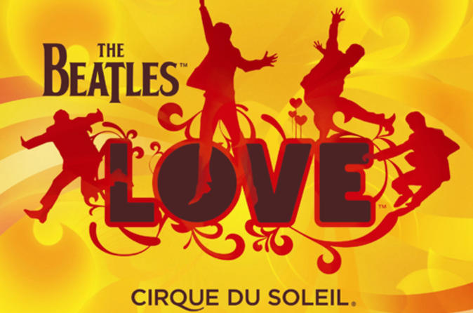 The Beatles LOVE Cirque du Soleil en el Mirage Las Vegas