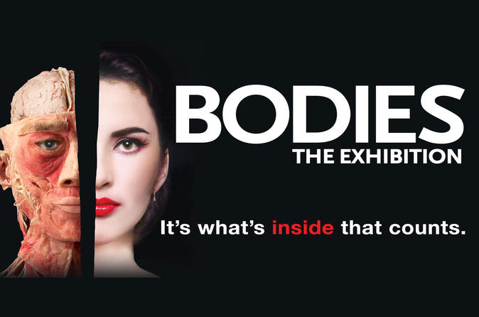 Bodies The Exhibition en el Luxor Hotel and Casino