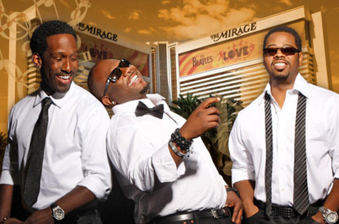 Boyz II Men en el Mirage Hotel and Casino