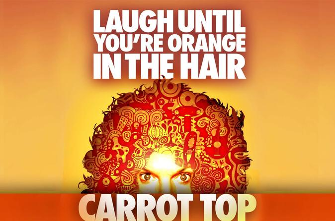 Carrot Top en el Luxor Hotel and Casino
