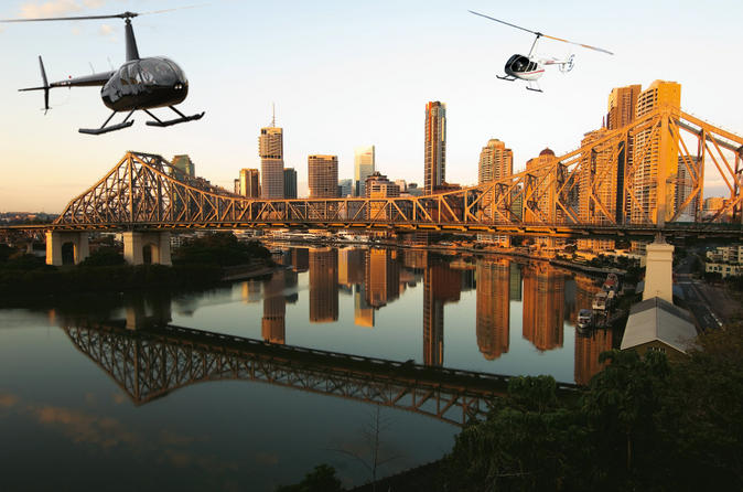 Private-brisbane-twilight-helicopter-tour-in-brisbane-106374