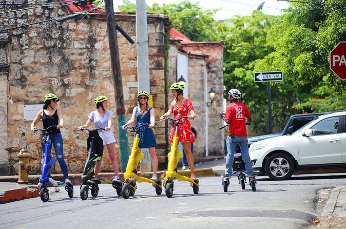 Santo Domingo Morning Trikke Bike and Food Tour
