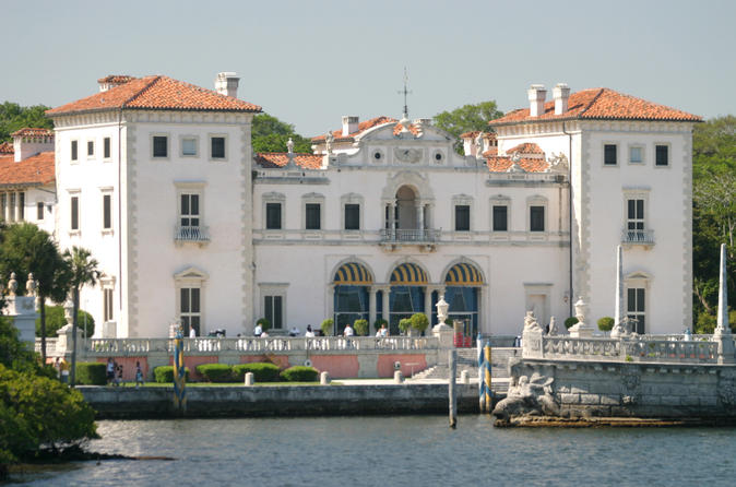 Admission to Vizcaya Museum and Gardens with Transportation