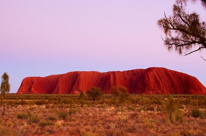 Best of Ayers Rock: Sunset Uluru and Sunrise Kata Tjuta Small Group Tours image