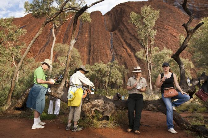 Full Uluru Base Walk at Sunrise Including breakfast image
