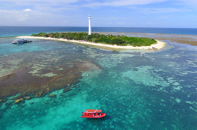 Amedee Island, Outer Reef Private Water Taxi Tour from Noumea
