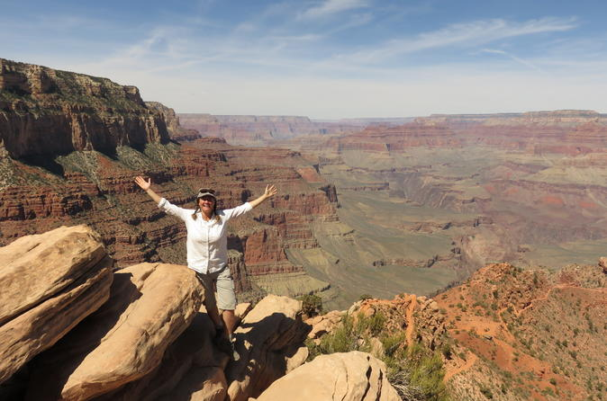 Grand Canyon West Rim Adventure From Sedona Helicopter Tour And Lunch Triphobo