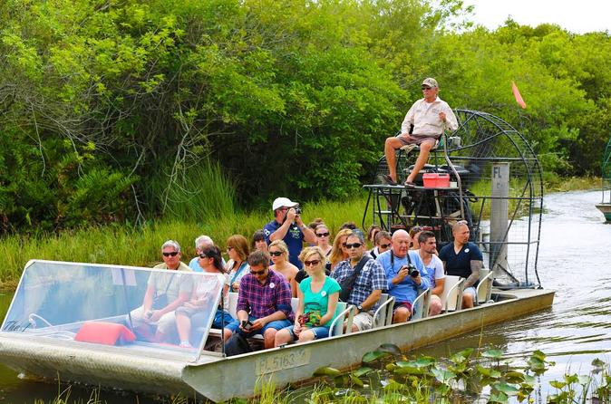 Half-Day Bus Trip to Everglades with Airboat Ride and Wildlife Show