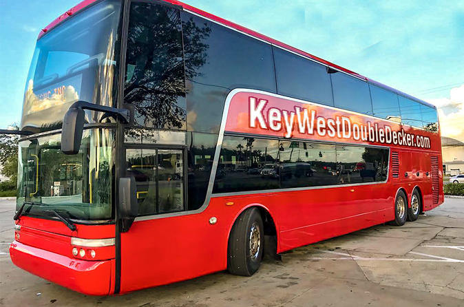 Key West Double Decker Bus Tour from Miami