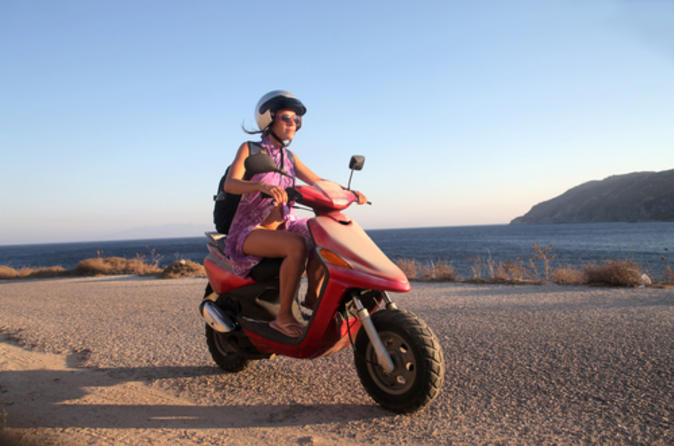 Formentera Independent Scooter Tour from Ibiza