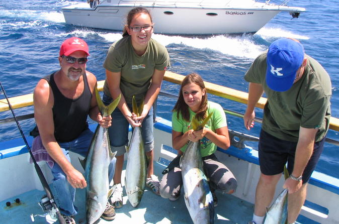 full day deep sea fishing cruise from newport beach