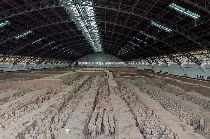 Xi'an Wall, Great Mosque and Terracotta Warriors Private Tour