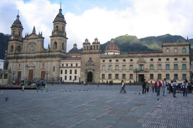 Bogotá City Tour with Lunch and Cable Car Ride Upgrade