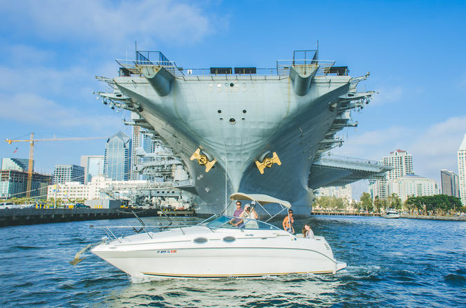 Private 90 Minute San Diego Bay Tour for 6 People