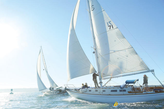 Private Half-Day San Diego Bay Sailing Tour