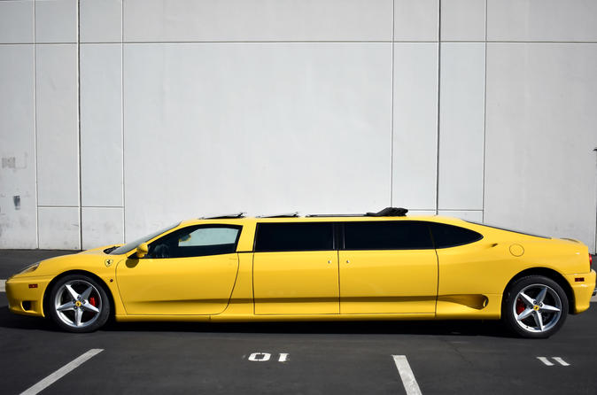 Ferrari Limo Hollywood and Beverly Hills Private Tour