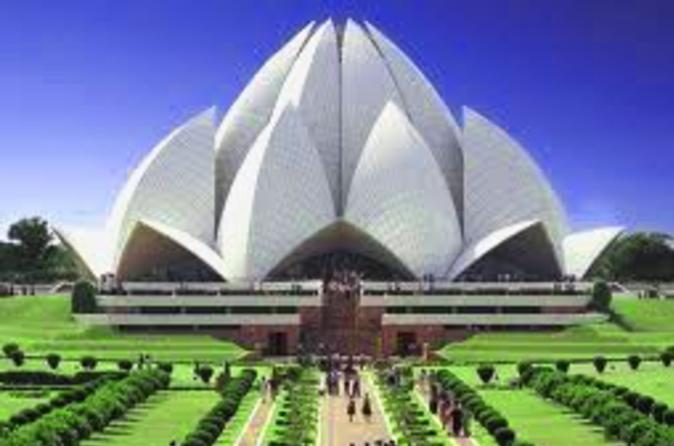 Private-delhi-tour-lotus-temple-qutub-minar-and-dilli-haat-in-delhi-113818