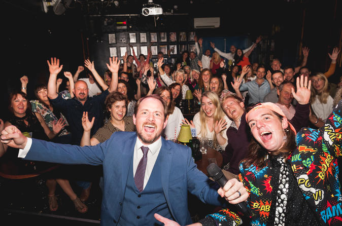 House Magicians Comedy Magic Show at Smoke & Mirrors in Bristol