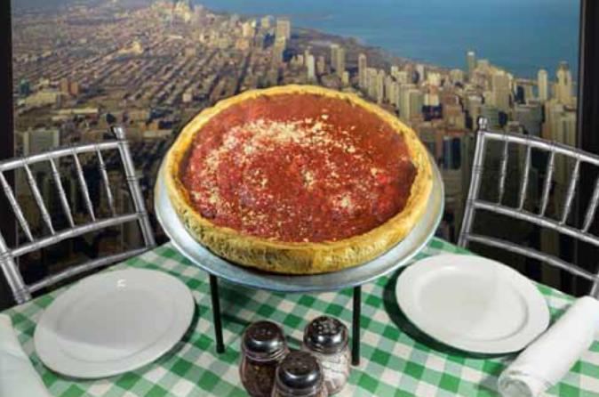 Willis Tower Skydeck Lunch