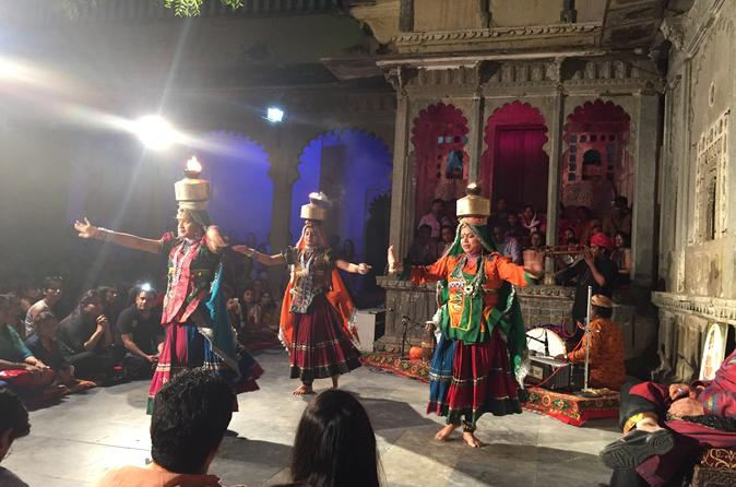 Evening Excursion: Bagore Ki Haveli Dance Show in Udaipur