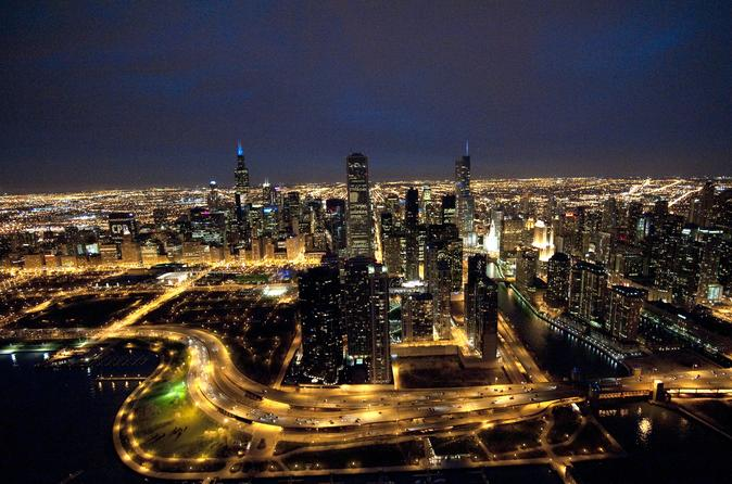 Chicago by Night Helicopter Tour