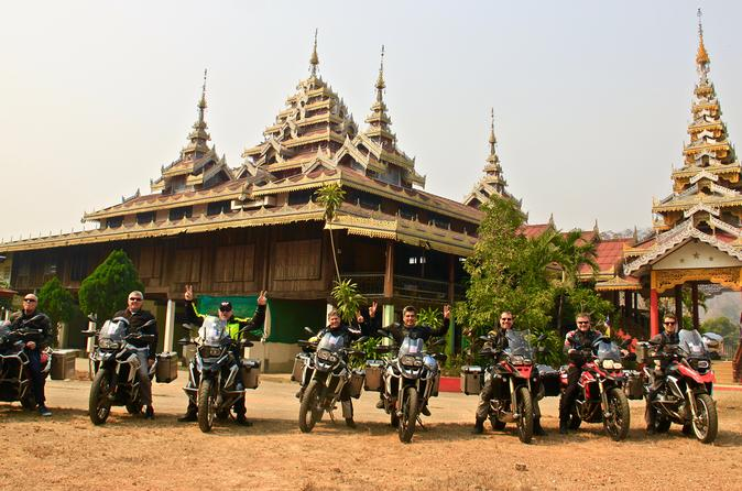 Mae Hong Son Loop 3-Day BMW Motorcycle Tour from Chiang Mai