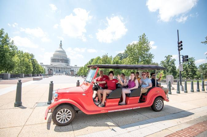 Capitol Hill and Monuments Electric Cart Small-Group Tour
