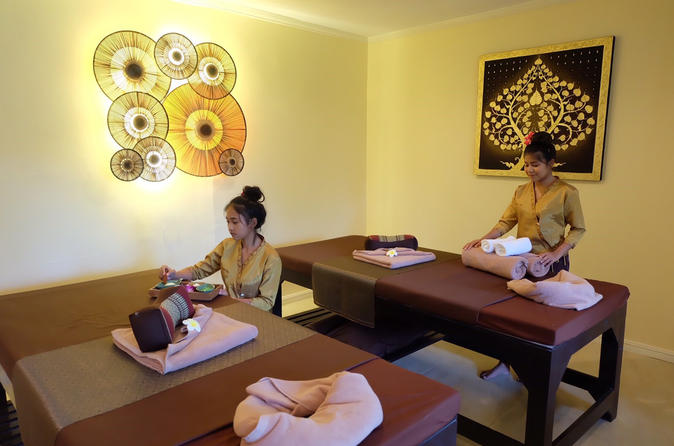 4 hours massage and spa package