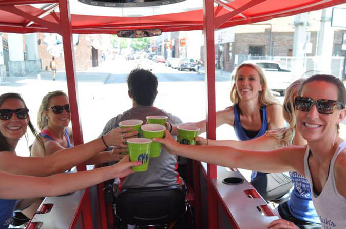 Party Bike Private Party Up To 15 People in Downtown Tucson
