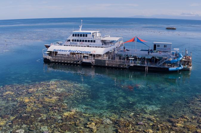 Cairns to Great Barrier Reef Water Activities Cruise and Lunch