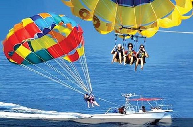 Bali Parasailing Adventure,Banana Boat,Jet Ski and Donut Boat with Transfers