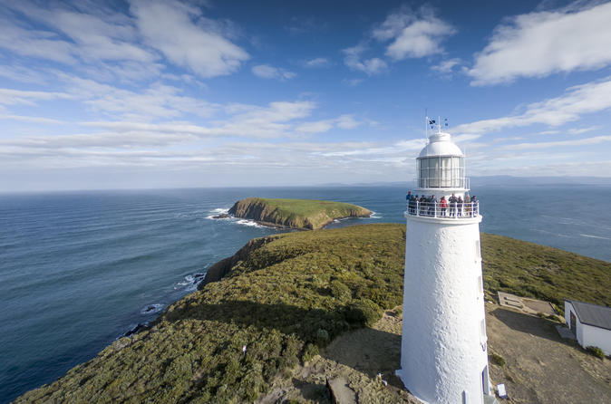Bruny Island with Lighthouse Tour and Food Samples from Hobart