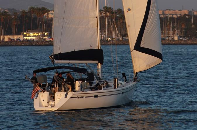 Sail Boat Charters From Hyatt Regency Mission Bay