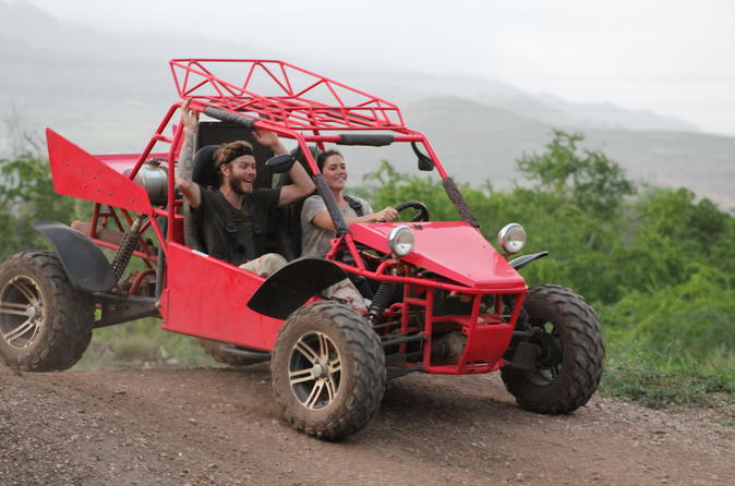 Half-Day Zipline and Off-Road ATV Combo Tour in Oahu