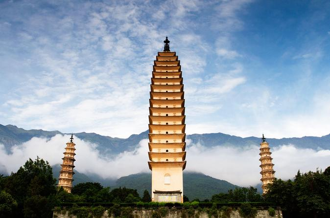 Dali Private Day Tour to Xizhou Village including Horse Drawn Carriage Ride, Tie-dye Art and Three Pagodas