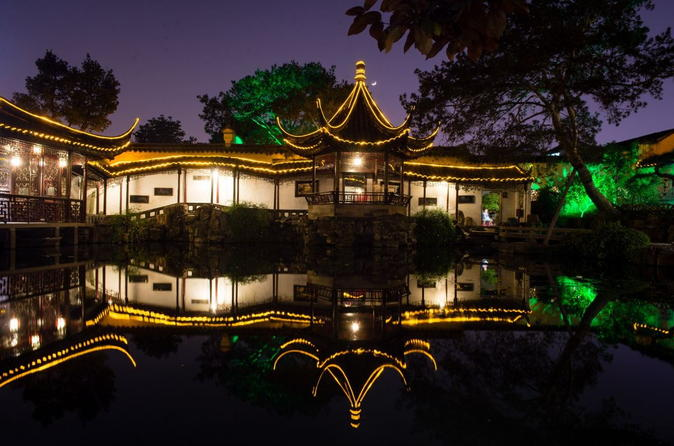 Suzhou Master of Nets Garden Night Tour with Traditional Music