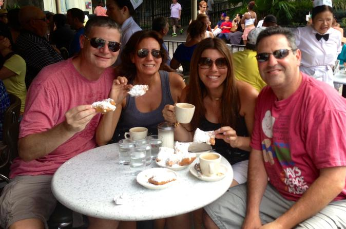 French Quarter History Tour with Cafe Du Monde