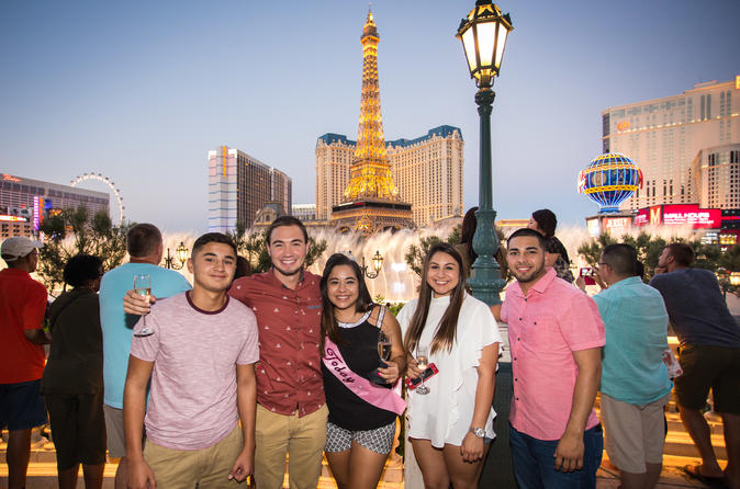 Las Vegas Strip by SUV Stretch Limo with Personal Photographer