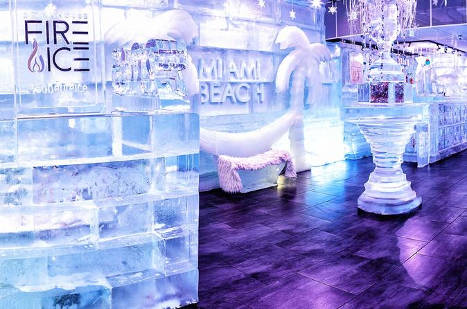 Ice Bar and Experimental Cocktail Lounge Experience