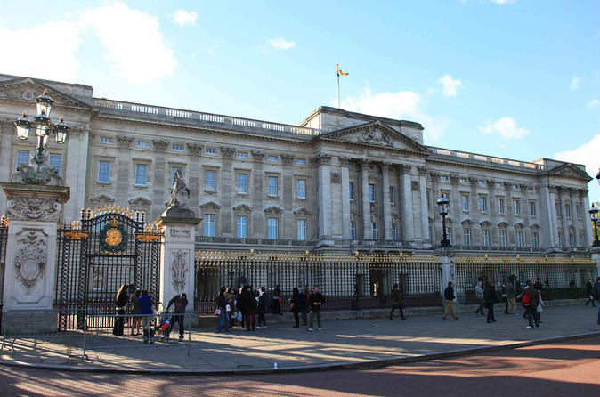 Buckingham Palace Entrance Ticket with Royal London Walking Tour