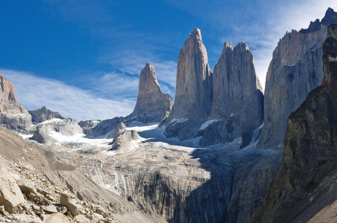 Full-Day Hiking Tour to the Base of Paine Towers at Torres del Paine ...