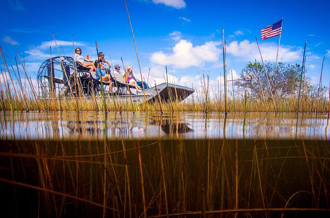 Everglades Airboat Tour with Transport from Miami