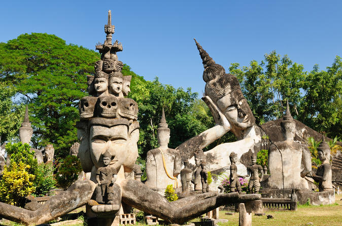 Private-tour-xieng-khuan-buddha-park-and-lao-textiles-from-vientiane-in-vientiane-153168