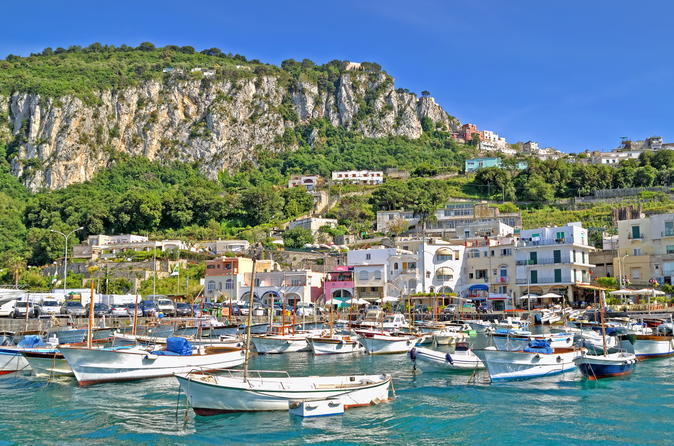 Semi-Guided Capri Island Tour