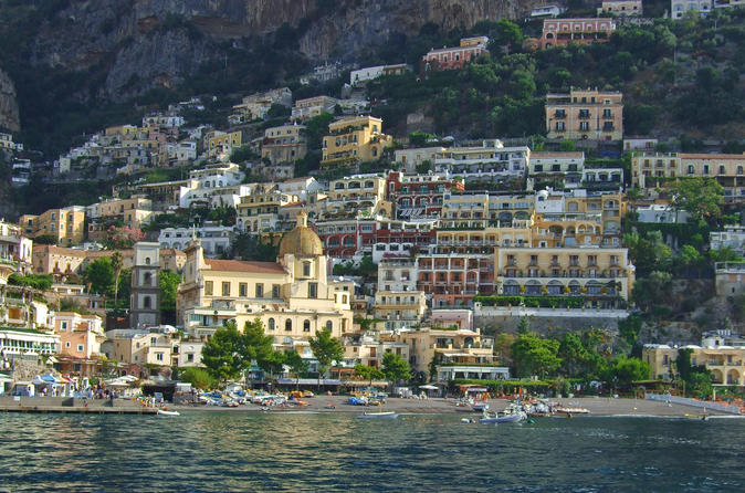 A Perfect Day Around Positano and the Amalfi Coast by Private Speedboat