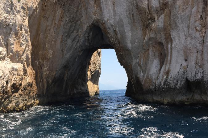 Private Boat Excursion from Sorrento to Capri and Positano