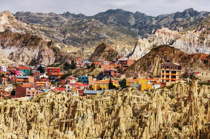 La Paz Sightseeing and Moon Valley 3-Hour Private Tour